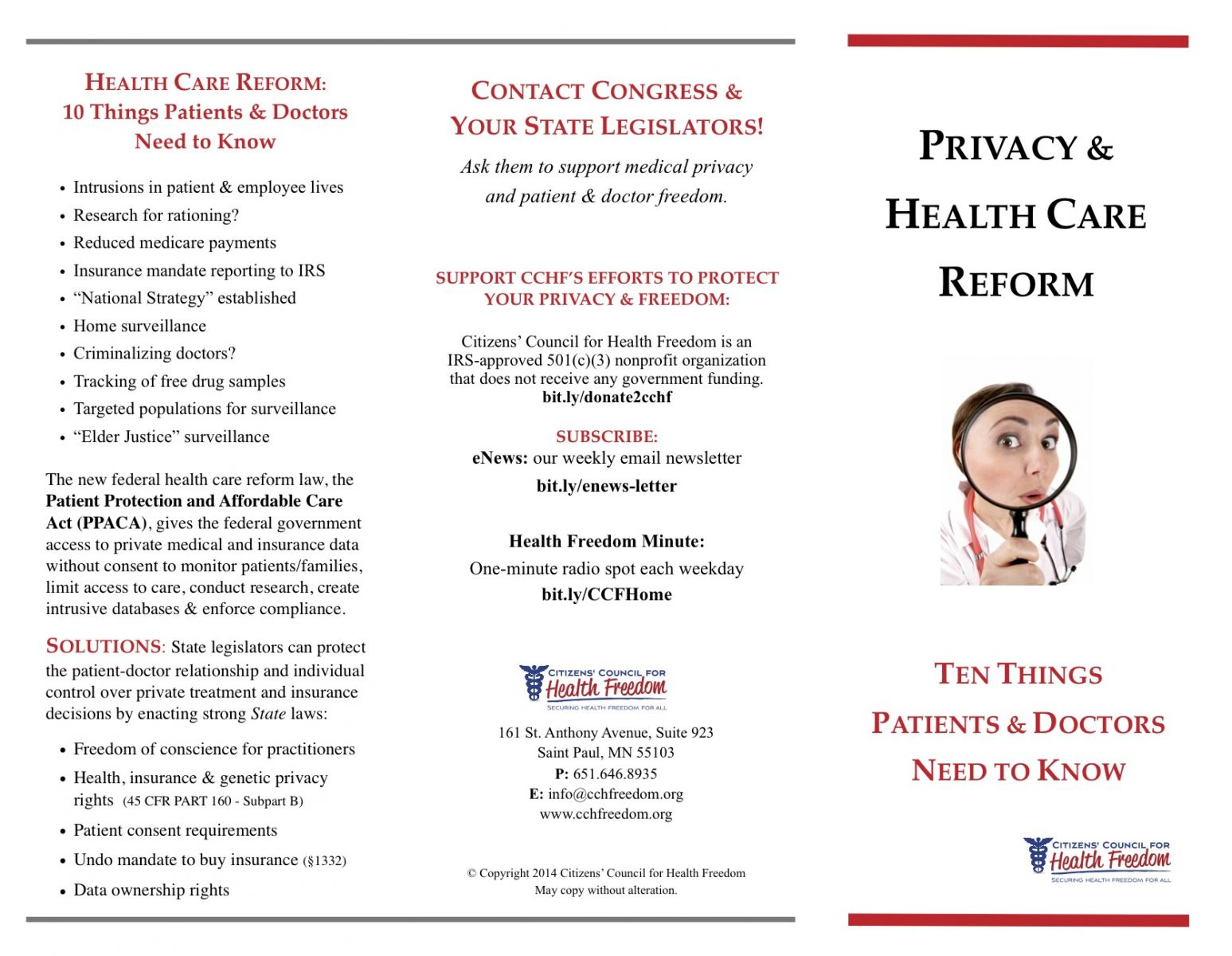 Privacy Amp Health Care Reform 10 Things Patients