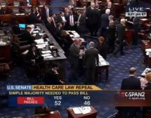 Senate Votes to Repeal Parts of Obamacare