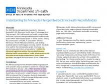 MDH on Record - NO EHR, NO PENALTY