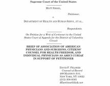 Matt Sissel v Department of Health and Human Services, et al