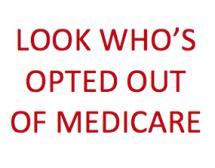 Opting for Freedom from Medicare