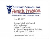 CCHF Letter to Sen McConnell