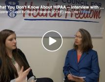 What You Don't Know About HIPAA -- Interview with Twila Brase