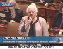 May 3, 2012 House Floor Discussion - Amendments to SF1212