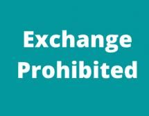 Exchange Prohibited - Model Legislation