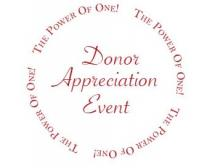'The Power of One' - CCHF's First Donor Appreciation Event