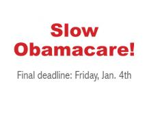 Slow Obamacare Implementation!