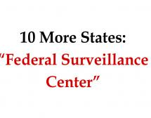 "Ten States to Connect with ""Federal Surveillance Center"""