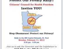 Protect Our Privacy Rally