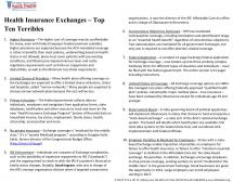 Health Insurance Exchanges - Top Ten Terribles