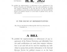 HR 2022 - Black: Stopping Government Abuse of Taxpayer Information Act