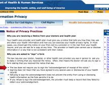 HIPAA Privacy Notice - Why are you asked to sign a form?