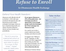 "CCHF Launches National ""Refuse to Enroll"" Campaign"