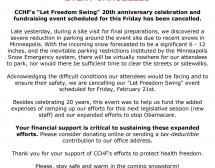 CCHF 20th Anniversary Celebration - Let Freedom Swing! - CANCELLED