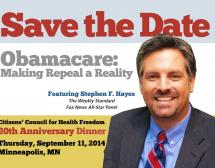 Save the Date! Obamacare: Making Repeal a Reality